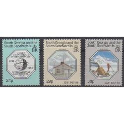 Falkland-Géorgie du Sud et Sandwich du Sud - 1987 - No 181/183 - Polaire
