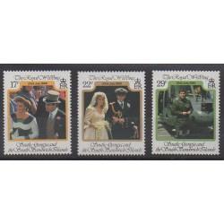 Falkland - 1986 - Nb 163/165 - Royalty