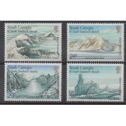 Falkland-Géorgie du Sud et Sandwich du Sud - 1989 - No 192/195 - Polaire