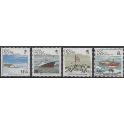 Falkland - 1992 - Nb 223/226 - Military history