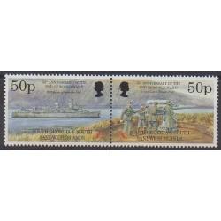 Falkland-Géorgie du Sud et Sandwich du Sud - 1995 - No 259/260 - Seconde Guerre Mondiale