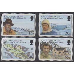 Falkland-Géorgie du Sud et Sandwich du Sud - 1996 - No 264/267 - Polaire