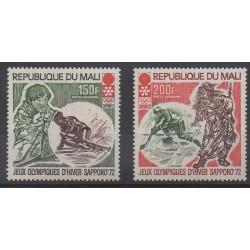 Mali - 1972 - No PA140/PA141 - Jeux olympiques d'hiver