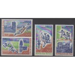 Mali - 1972 - No PA147/PA150 - Jeux Olympiques d'été
