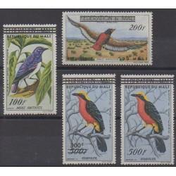 Mali - 1961 - Nb PA5/PA8 - Birds
