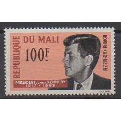 Mali - 1964 - Nb PA24 - Celebrities