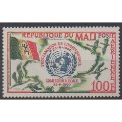 Mali - 1961 - Nb PA11 - Various Historics Themes
