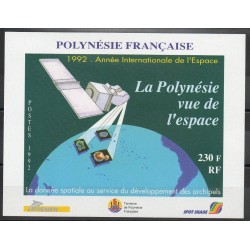 Polynesia - Blocks and sheets - 1992 - Nb BF19 - Space
