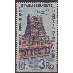 India - 1948 - Nb PA17 - Monuments - Mint hinged