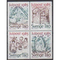 Sweden - 1985 - Nb 1342/1345 - Christmas