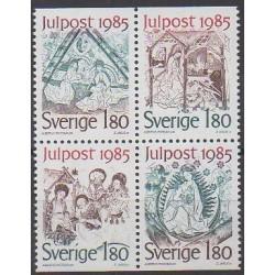 Suède - 1985 - No 1342/1345 - Noël