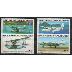 Polynésie - Poste aérienne - 1980 - No PA156/PA159