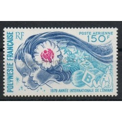 Polynésie - Poste aérienne - 1979 - No PA145 - Enfance