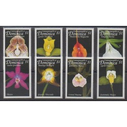 Dominique - 1999 - No 2301/2308 - Orchidées