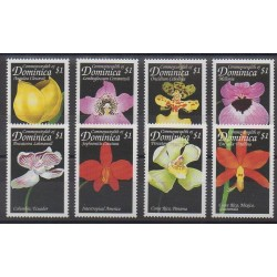 Dominique - 1999 - No 2317/2324 - Orchidées