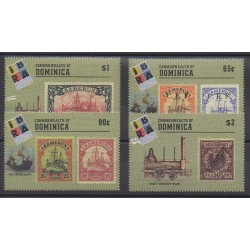 Dominique - 1999 - No 2334/2337 - Timbres sur timbres