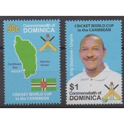 Dominique - 2007 - No 3288/3289 - Sports divers