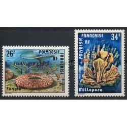 Polynésie - Poste aérienne - 1978 - No PA138/PA139 - Vie marine