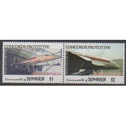 Dominique - 2007 - No 3285/3286 - Aviation