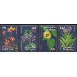 Dominique - 2007 - No 3298/3301 - Fleurs