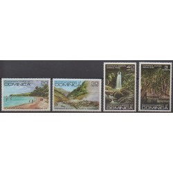 Dominique - 1981 - No 667/670 - Sites