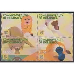 Dominique - 2004 - Nb 3006/3009 - Horoscope