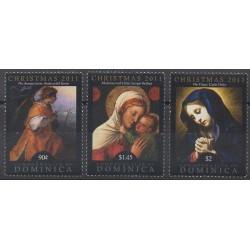 Dominique - 2011 - No 3568/3570 - Noël