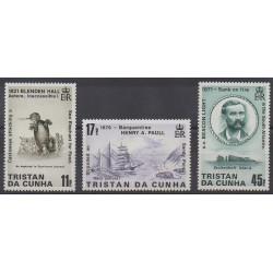 Tristan da Cunha - 1987 - Nb 403/405