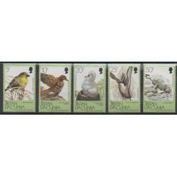 Tristan da Cunha - 1988 - Nb 419/423 - Birds