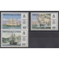 Tristan da Cunha - 1992 - Nb 508/510 - Boats