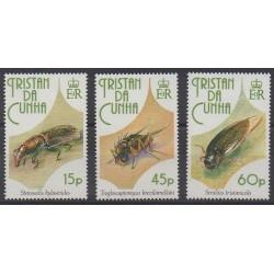 Tristan da Cunha - 1993 - No 511/513 - Insectes