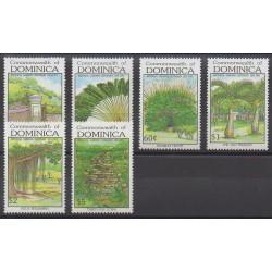Dominique - 1992 - Nb 1357/1362 - Trees