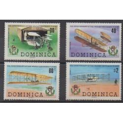 Dominique - 1978 - No 591/594 - Aviation
