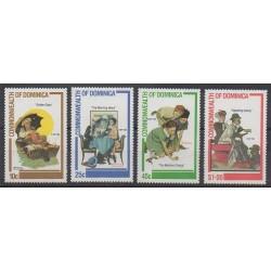 Dominique - 1982 - No 729/732 - Art