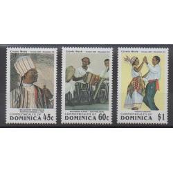 Dominique - 1991 - No 1311/1313 - Folklore