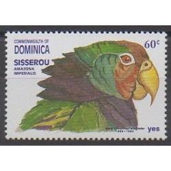 Dominique - 1991 - Nb 1314 - Birds - Environment