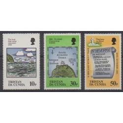 Tristan da Cunha - 1985 - Nb 377/379