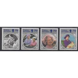Tristan da Cunha - 1985 - No 369/372 - Royauté - Principauté