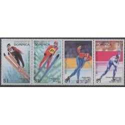 Dominique - 1997 - No 2060/2063 - Jeux olympiques d'hiver