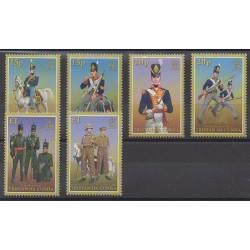 Tristan da Cunha - 2008 - Nb 880/885 - Military history