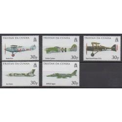 Tristan da Cunha - 2008 - Nb 886/890 - Planes