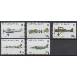 Tristan da Cunha - 2008 - No 886/890 - Aviation