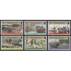 Tristan da Cunha - 2008 - No 891/896 - Artisanat ou métiers
