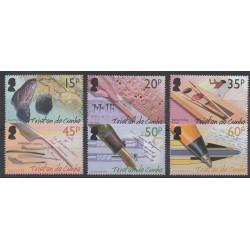 Tristan da Cunha - 2004 - Nb 751/756 - Literature