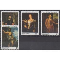 Dominique - 1988 - No 1059/1062 - Peinture