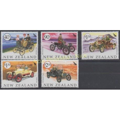 Nouvelle-Zélande - 2003 - No 2032/2036 - Voitures