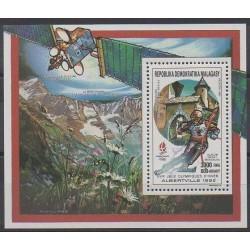 Madagascar - 1990 - No BF64 - Jeux olympiques d'hiver