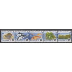 Tristan da Cunha - 2005 - No 784/788 - Animaux