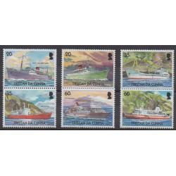 Tristan da Cunha - 2004 - Nb 762/767 - Boats