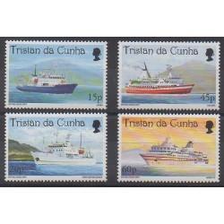 Tristan da Cunha - 1998 - Nb 611/614 - Boats